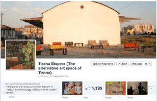 Tirana Ekspres imazhi ballor
