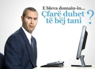 Cfare te bej me domain-in tim?