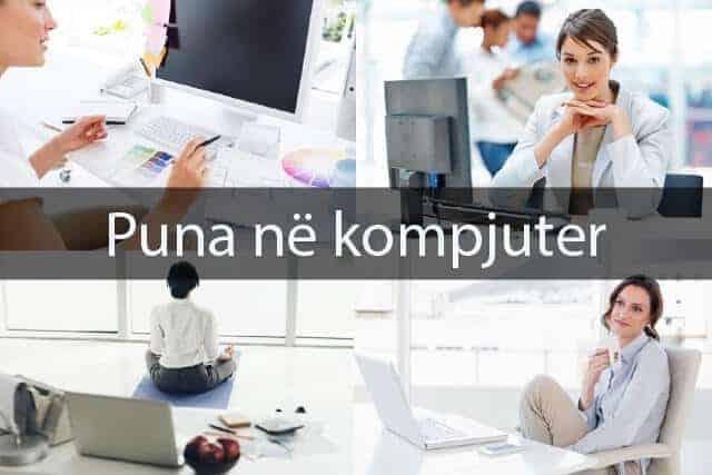 Puna në kompjuter