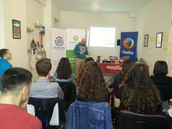 Mozilla Tech Speakers Tirana #1