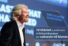 Richard Brandson & suksesi ne biznes
