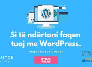 Si te ndertoni faqen me WordPress