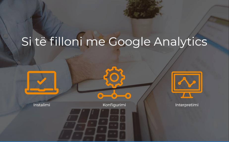 Sfida Biznesi - si te filloni me Google Analytics